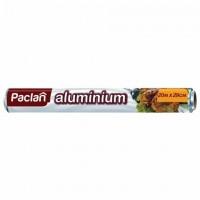 Фольга пищевая алюминиевая Paclan, 29см х 20м, в рулоне, 1шт. (401127)