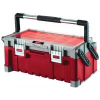 Ящик с органайзером KETER Cantilever tool box 22 (17187311) 56.7x31.4x24.5 см 22'' красный