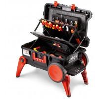 44128 Wiha Инструментальный ящик для набора XXL III electric 100 предм. (серия 9500)