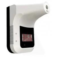 Бесконтактный Термометр Nesh. Электронный Инфракрасный Настенный измеритель температуры тела. Белый. OPT031057