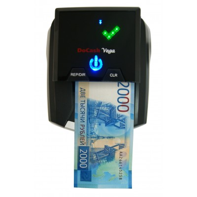 Автоматический детектор валют (банкнот) DoCash Vega (с АКБ)