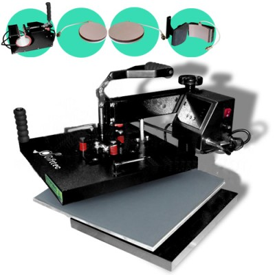 Термопресс Gifttec MASTER комбо 4 в 1, 38х38см, электронное управление WL-13D