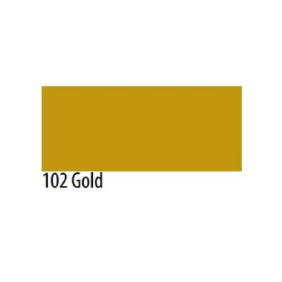 Термоплёнка Chemica firstmark полуматовая для изделий из хлопка, п/э, акрила, золотая, 50х100см, м