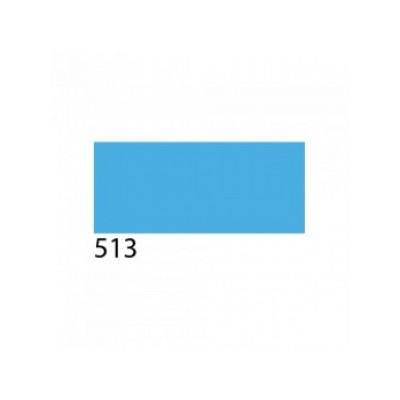 Термоплёнка Chemica upperflok бархатная для изделий из хлопка, п/э, акрила, голубая, 50х100см, м