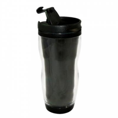 Термостакан пластиковый для полиграфической вставки, 340 мл, шт