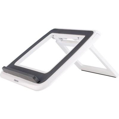 """Fellowes® I-Spire Series™, Подставка для ноутбука до 17"""" с регулировкой высоты, белая/серая, шт"""