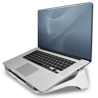 """Fellowes® I-Spire Series™, Подставка для ноутбука до 17"""", белая/серая, шт"""