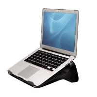 "Fellowes® I-Spire Series™, Подставка для ноутбука до 17"", черная, шт"