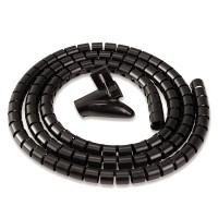 Канал-органайзер для кабелей CableZip™, длина 2 м, диаметр - 20 мм, черный, шт
