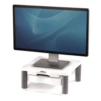 Подставка под монитор с лотком для бумаг и копихолдером,платиновый/графит, пластик, шт