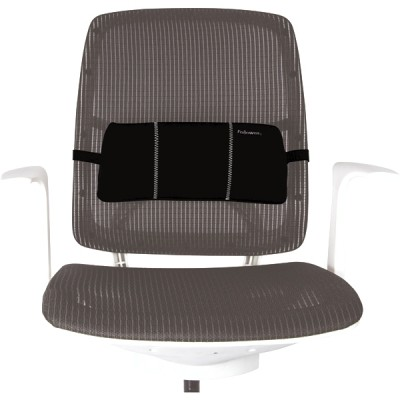 Поясничная подушка для кресла, черная, шт
