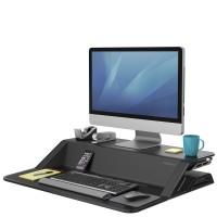 Платформа для работы сидя-стоя Fellowes Lotus Sit-Stand Workstation, черная, шт
