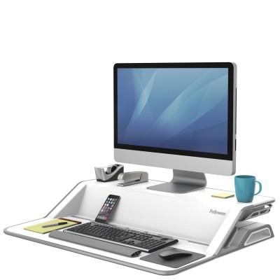 Платформа для работы сидя-стоя Fellowes Lotus Sit-Stand Workstation, белая, шт