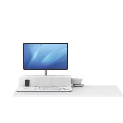 Платформа для работы сидя - стоя Fellowes Lotus RT Sit-Stand Workstation, белая, для 1 монитора