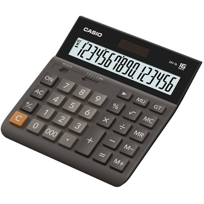 Настольный калькулятор CASIO DH-16-BK-S-EH