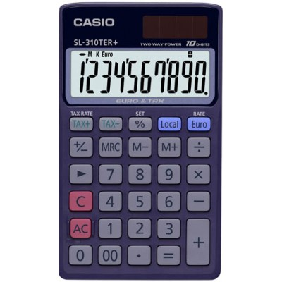 Карманный калькулятор CASIO SL-310TER+-SA-EH