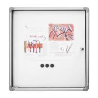 12 150 00 Доска-витрина интерьерная, магнитно-маркерная Magnetoplan, 4 документа формата А4, 610 х 730 мм