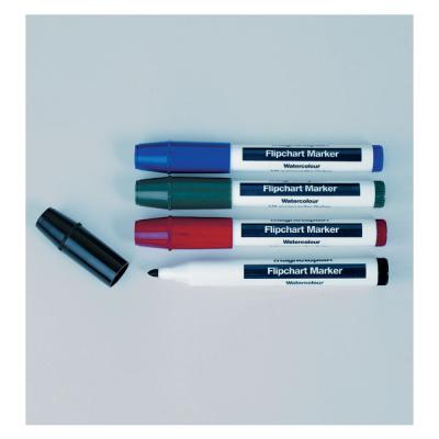 12 274 04 Набор из 4-х разноцветных маркеров Magnetoplan для бумажных блоков