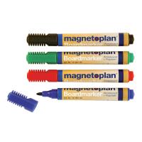 12 281 Набор из 4-х разноцветных маркеров Magnetoplan для досок и бумаги