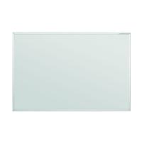 12 401 00 Белая эмалевая доска с системной рамкой ferroscript Magnetoplan, 1000 х 750 мм