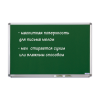 12 402 95 Доска школьная меловая зеленая SP Magnetoplan, 600 х 450 мм