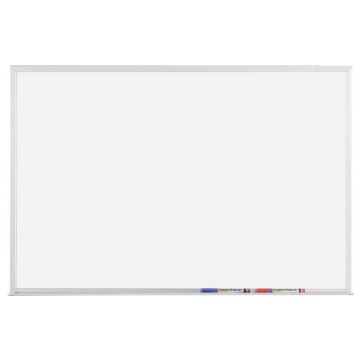 12 407 СС Белая эмалевая магнитно-маркерная доска серии СС Magnetoplan, 2200 х 1200 мм