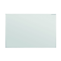 12 411 00 Белая эмалевая доска с системной рамкой ferroscript Magnetoplan, 2000 х 1000 мм