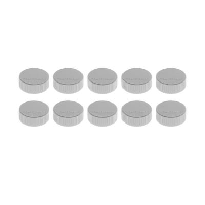 16 600 01 Магниты Magnetoplan Magnum, сила 2 кг, диаметр 34 мм, 10 шт, серые