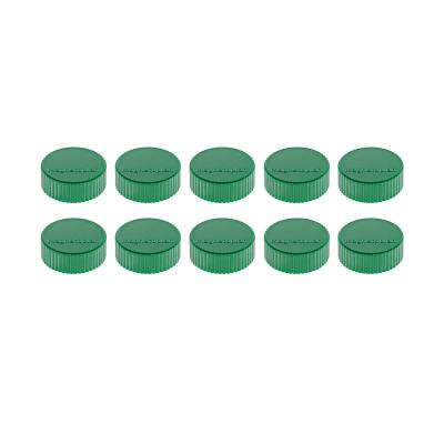 16 600 05 Магниты Magnetoplan Magnum, сила 2 кг, диаметр 34 мм, 10 шт, зеленые
