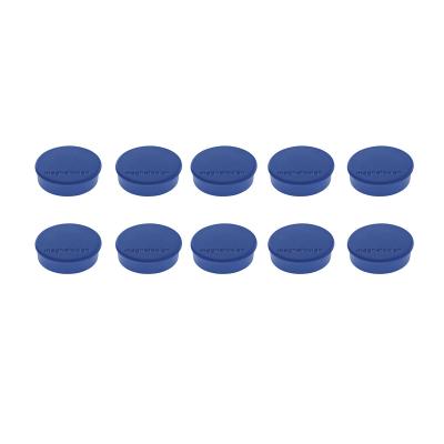 16 645 14 Магниты Magnetoplan Hobby, сила 0,3 кг, диаметр 25 мм, 10 шт, синие
