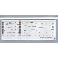 37 032 55 Планинг на 5 дней, Magnetoplan, англ./нем. язык, 1500 х 450 мм