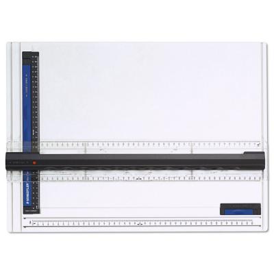 661A3 Чертежная доска Mars 661, формат А3, с рейсшиной, Staedtler