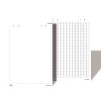 B-02/10 Бумага (блокнот) для флипчартов, 580 х 830 мм/белый цвет/10 листов