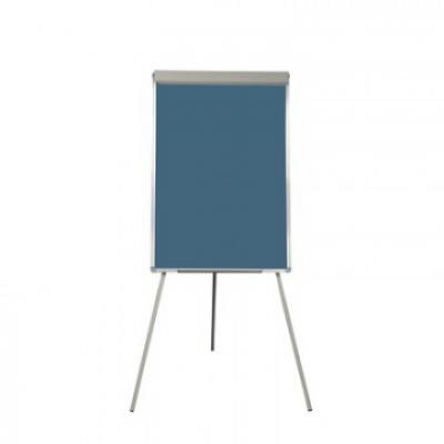Флипчарт Attache Selection , доска меловая на треноге, синяя 70x100 см