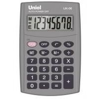 Карманный калькулятор Uniel UK-06