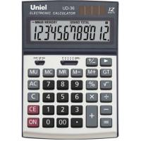 Настольный калькулятор Uniel UD-36