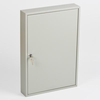 Ключница (шкаф для ключей) Office-Force для 100 ключей, настенная, металлическая, 550 х 380 х 80 мм