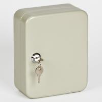 Ключница (шкаф для ключей) Office-Force для 20 ключей, настенная, металлическая, 200 х 160 х 80 мм