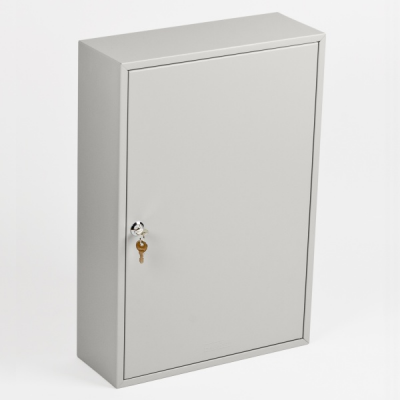 Ключница (шкаф для ключей) Office-Force для 200 ключей, настенная, металлическая, 550 х 380 х 140 мм