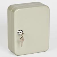 Ключница (шкаф для ключей) Office-Force для 30 ключей, настенная, металлическая, 200 х 160 х 80 мм