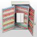 Ключница (шкаф для ключей) Office-Force для 300 ключей, настенная, металлическая, 550 х 380 х 205 мм