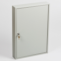 Ключница (шкаф для ключей) Office-Force для 50 ключей, настенная, металлическая, 550 х 380 х 80 мм