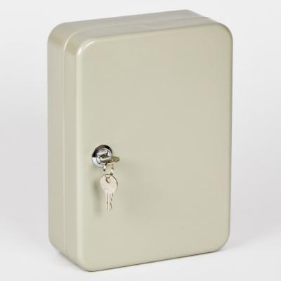 Ключница (шкаф для ключей) Office-Force для 60 ключей, настенная, металлическая, 250 х 180 х 80 мм