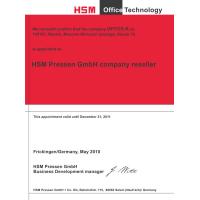 Контрнож для резака HSM CM 3625/CA 3640/CS3640
