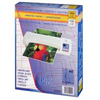 Пакетная пленка для ламинирования глянцевая, 154 х 216 мм (A5), 100 мкм, 100 шт