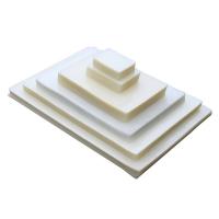 Пакетная пленка для ламинирования глянцевая, 54 х 86 мм (A1), 150 мкм, 100 шт