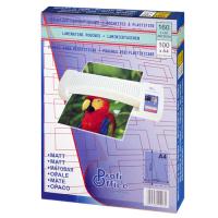 Пакетная пленка для ламинирования матовая ProfiOffice, 216 х 303 мм (А4), 80 мкм, 100 шт, 19903