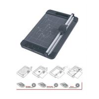 Резак роликовый (дисковый) для бумаги JIELISI/Bulros 959-1, перфорация и волнообразная резка