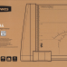 Резак роликовый (дисковый) для бумаги пленки фотографии Fellowes Atom A4