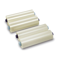 Рулонная пленка для ламинирования глянцевая, 510 мм х 100 м, 125 мкм, 25 мм